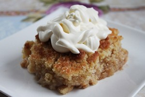apple crumble elmali kirinti tart
